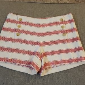 LOFT The Riviera Short Nautical Stripes